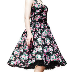 "Hell Bunny Dresses - Hell Bunny Leona ""Enchanted Afternoon"" Dress"